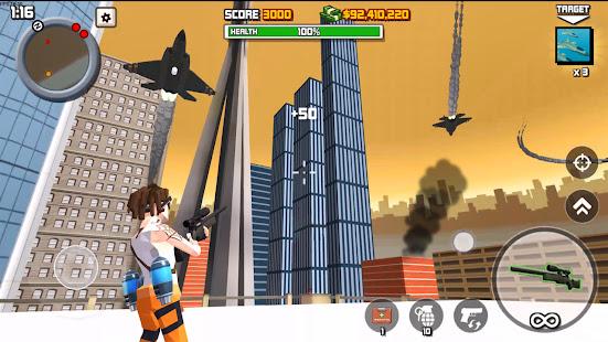 Guns Battle Royale: Free Shooting Game- Pixel FPS [v1.0.1] APK Mod for Android logo