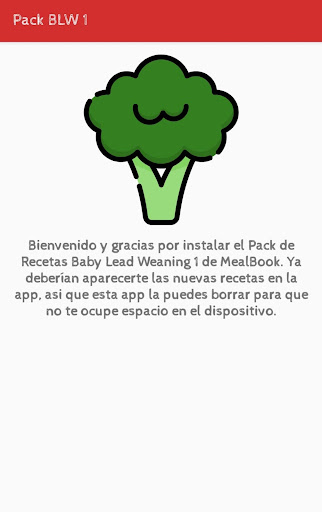 Pack Baby Led Weaning 1: Mealbook  screenshots 1