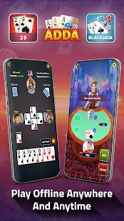 Adda : Rummy , 29 card game , 3 Patti , CallBreak 10.98 screenshots 4