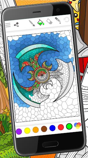 Colorish - free mandala coloring book for adults apkdebit screenshots 1