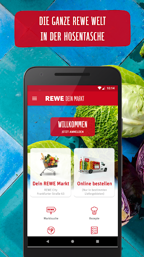 REWE - Online Shop & Mu00e4rkte 3.4.32-8 Screenshots 1