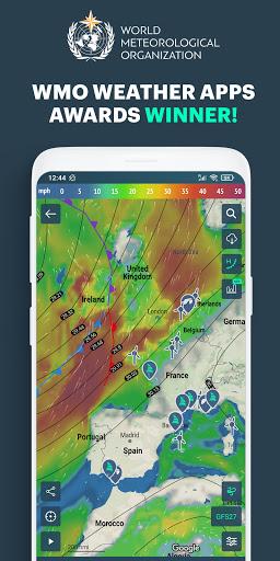 Download APK: Windy.app: precise local wind & weather forecast v13.1.0 [Pro] [Mod]