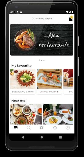 Hungry.az - food ordering 2.2.2 Screenshots 2