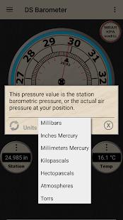 DS Barometer - Altimeter and Weather Information 3.78 Screenshots 13