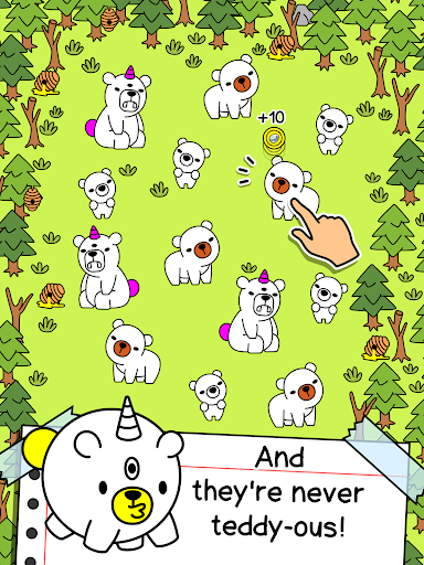 Bear Evolution - UnBEARably Fun Clicker Game screenshots 6