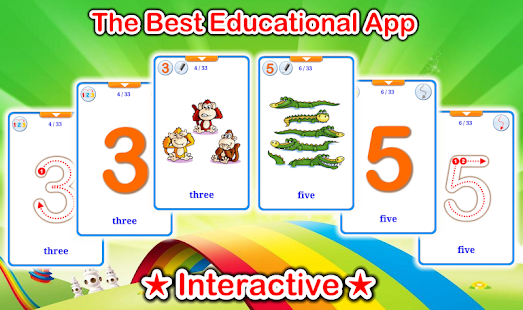 123 Numbers Flashcards (Learn English Faster)