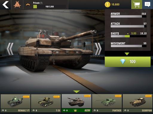 War Machines: Tank Battle - Army & Military Games  screenshots 13