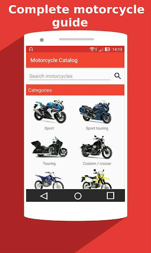 Motorcycle Catalog -  All Moto Information App 2.5 Screenshots 1
