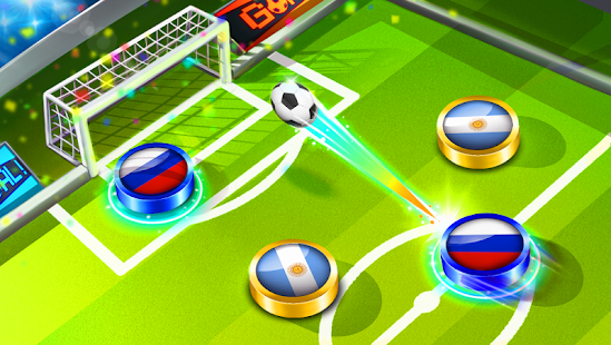 Soccer Caps 2021 ⚽️ Table Football Game Screenshot