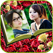 Photobook Photo Editor – Dual Frames Photo Collage