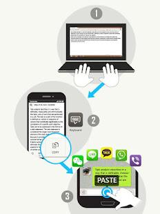 Clipboard: share text via wifi