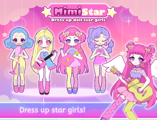 Mimistar - Pastel chibi doll girl dress up maker  screenshots 1