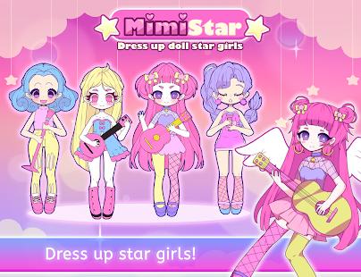 Mimistar - Pastel chibi doll girl dress up maker 2.0 screenshots 1