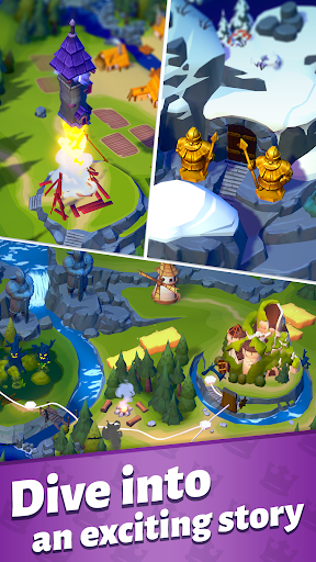 Merge Master u2013 Adventure Puzzle Apkfinish screenshots 2