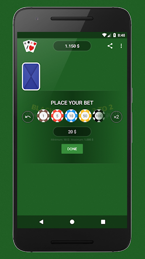 Blackjack - Free & Offline 1.7.1 Screenshots 3