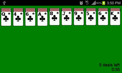 Spider Solitaire 3.1.8 screenshots 1