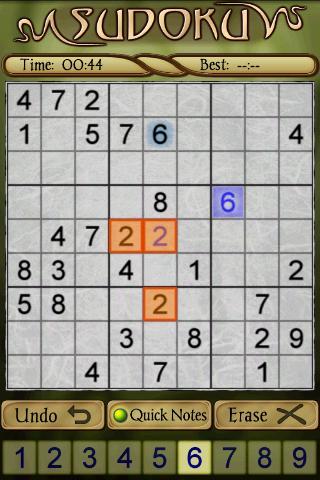 Sudoku Free 1.52 screenshots 2