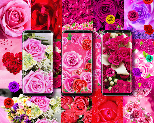 Best rose live wallpaper 2021 apktram screenshots 8