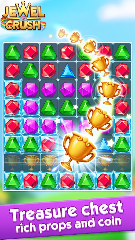 Jewel Crush™ - Jewels & Gems Match 3 Legend  poster 9