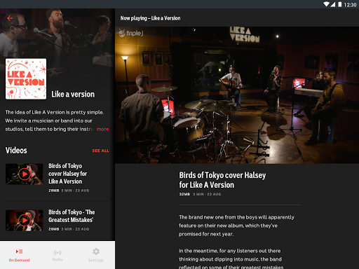 triple j modavailable screenshots 9