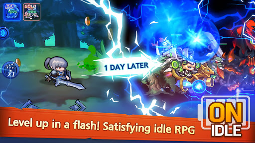 Raid the Dungeon : Idle RPG Heroes AFK or Tap Tap 1.10.2 screenshots 11