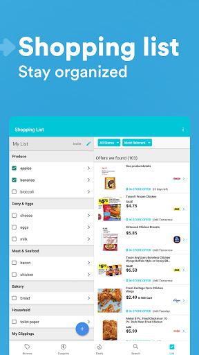 Flipp - Weekly Shopping modavailable screenshots 16