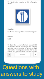 Practice driving test for CA