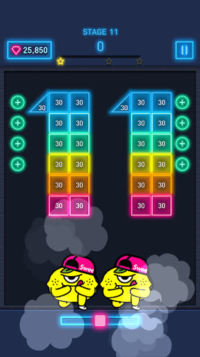Brick Breaker: Neon-filled hip hop! 1.0.19 screenshots 9