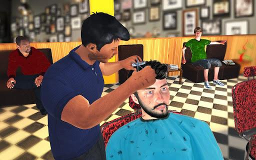 Barber Shop Hair Salon Cut Hair Cutting Games 3D 2.4 screenshots 12