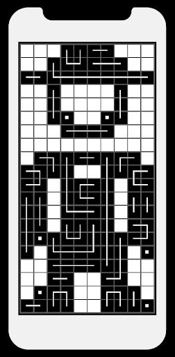 FCross Link-A-Pix puzzles 257 screenshots 2
