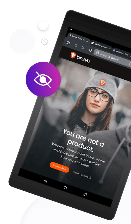 Brave Private Browser: Fast, secure web browser  poster 12