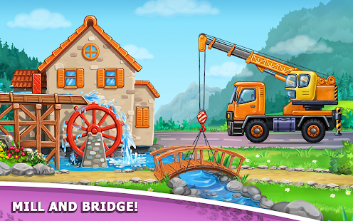 Image For Truck games for kids - build a house, car wash Versi 7.3.4 11