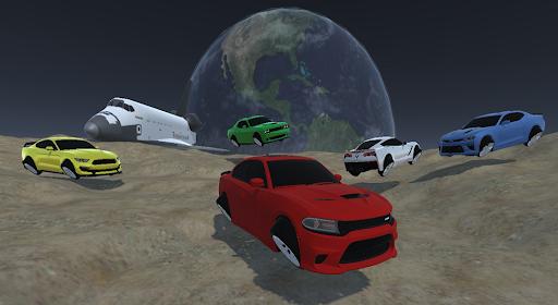 Space Car Charger Drag Racing Drift Simulator Game 0.1 screenshots 1