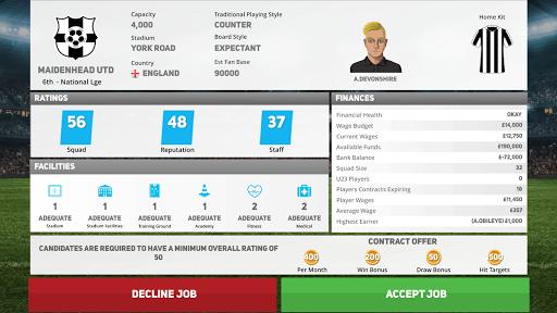 Club Soccer Director 2020 - Soccer Club Manager 1.0.81 Screenshots 10