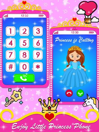 Baby Princess Phone - Princess Baby Phone Games 1.0.3 Screenshots 1