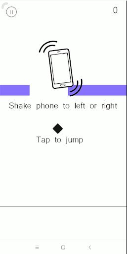 panic brick - addictive jump screenshot 1