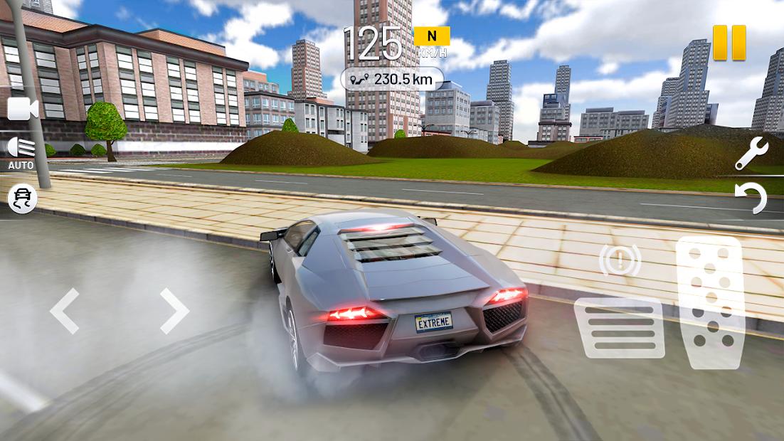 Extreme Car Driving Simulator Android App Screenshot