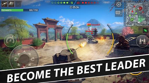 Battle Tanks: Game - Free Tank Games Military PVP  screenshots 5