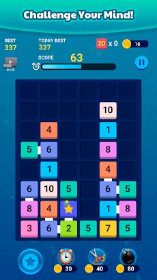 Merge Block: Fun Number Puzzleのおすすめ画像5