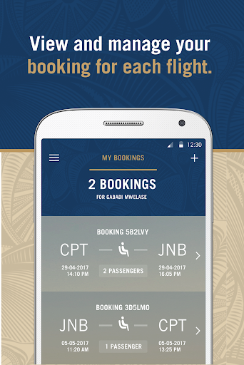 South African Airways Screenshot 2