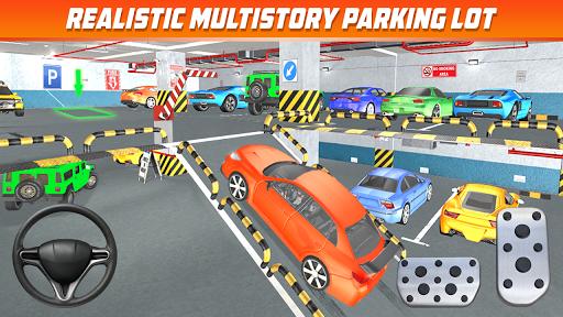 Multi Storey Car Parking Games: Car Games 2020 apkpoly screenshots 5