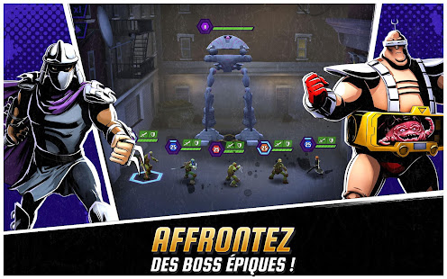 Ninja Turtles: Legends screenshots apk mod 2