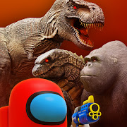Godzilla vs Kong : Tyrannosaurus invasion