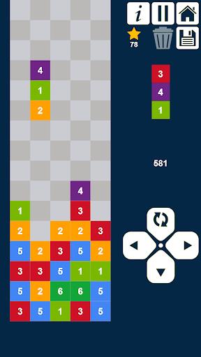 Code Triche colonnes plus - supprimer et fusionner des nombres APK MOD (Astuce) screenshots 1