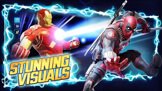 Download Marvel Strike Force Mod Apk [Unlimited Money, Power Cores] 1