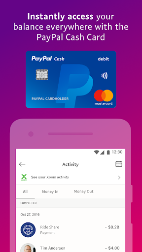 PayPal Mobile Cash: Send and Request Money Fast 7.30.1 Screenshots 5