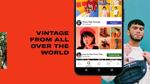 Depop - Streetwear & Vintage Fashion Marketplace 2.126 Screenshots 2
