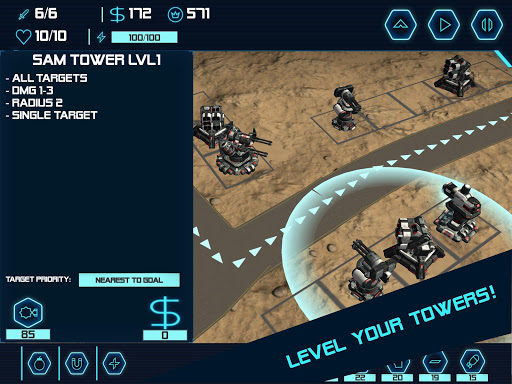 TD Tower Defense: Base Defender Tactical Tank War 1.6.4 screenshots 12