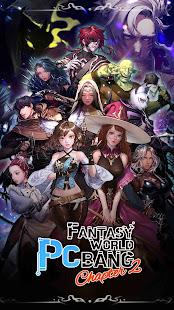 Fantasy world PC bang : Idle RPG & Clicker