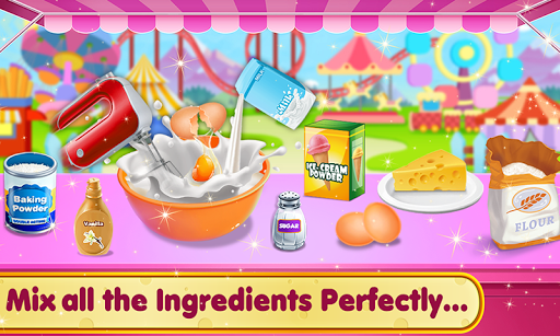 Doll Ice Cream Cake Baking 2019: World Food Maker apktreat screenshots 2